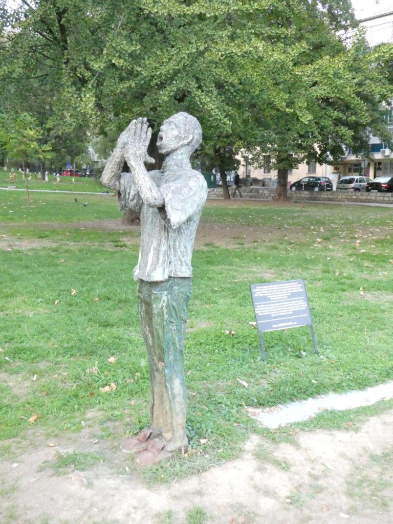 Memorial for Children Killed During the Siege - Sarajevo, Bosnia and Herzegovina