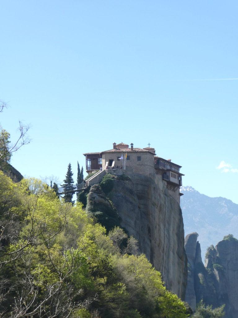 Roussenau Monastery - Meteora, Greece