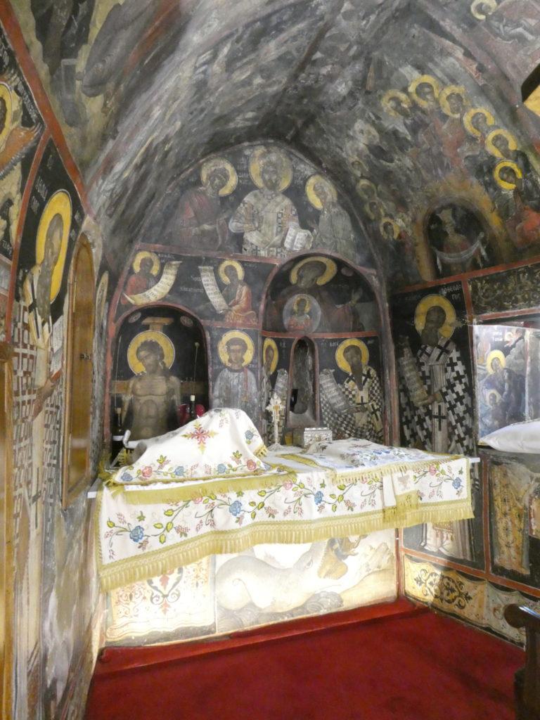 St Nicholas Monastery - Meteora, Greece