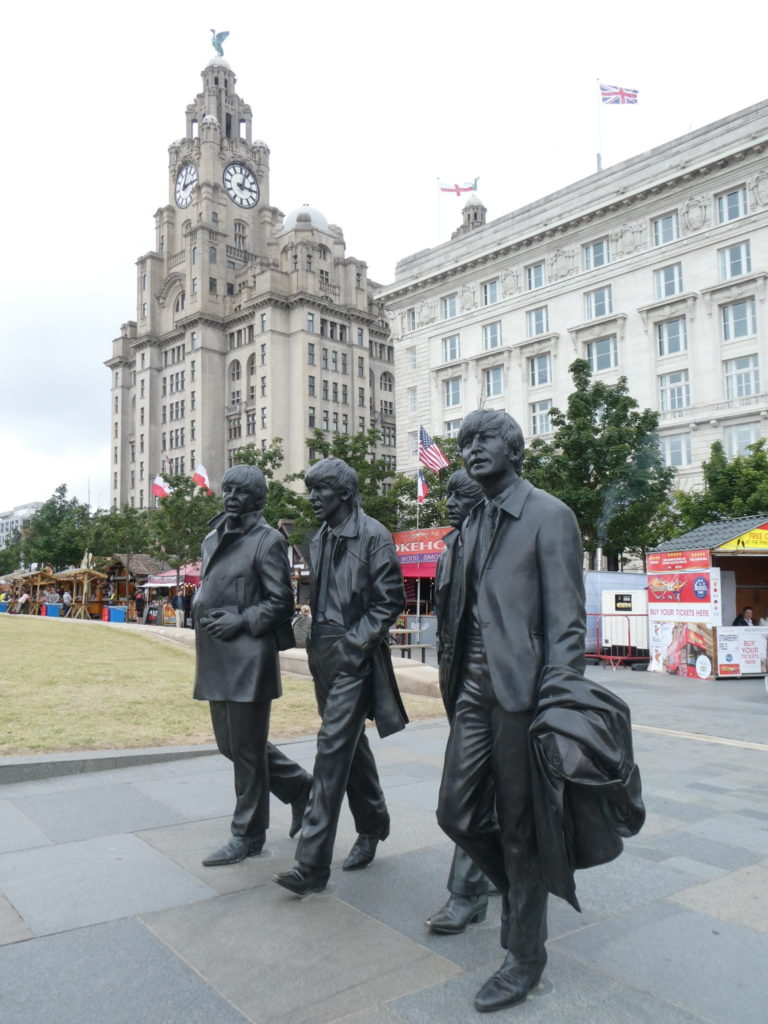 The Beatles Statue - Liverpool, England