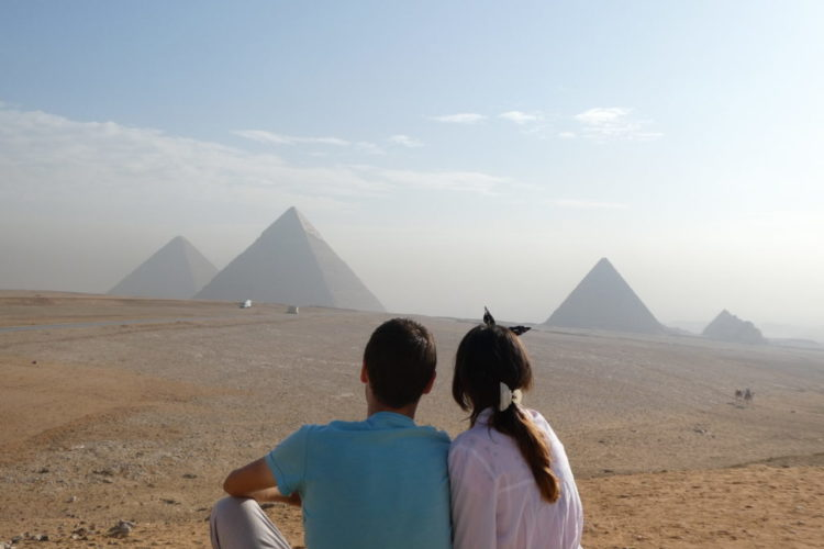 Is it safe to visit Egypt? Pyramids, Cairo, Egypt