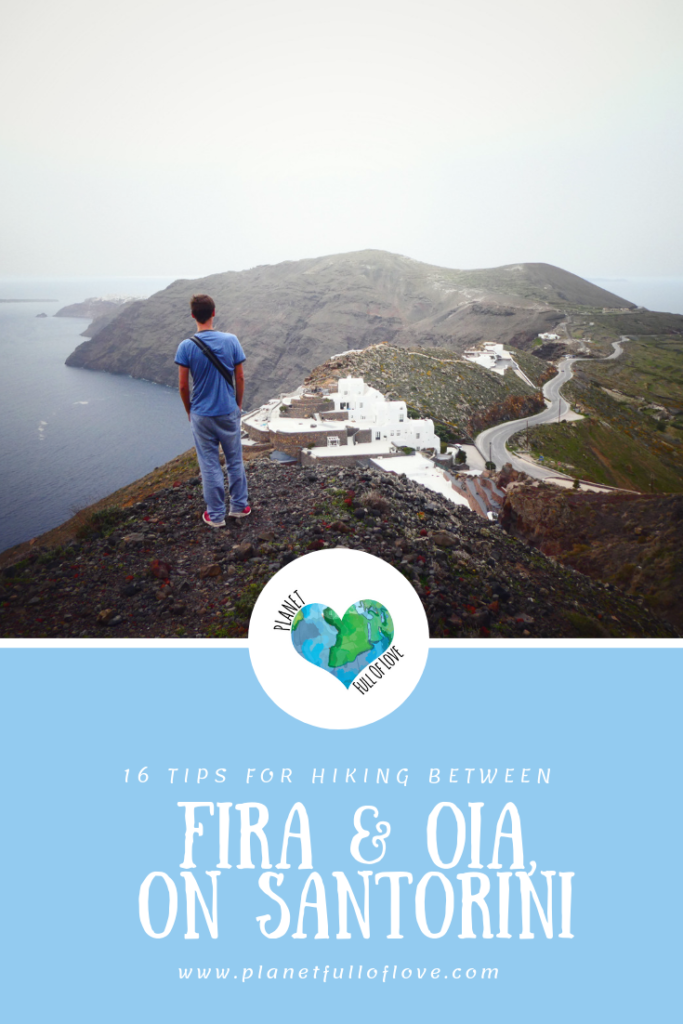 16 Tips for Hiking between Fira and Oia, on Santorini - Pinterest